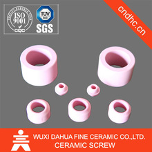 Factory with 20 years experience Produce Pink Color Small Size Ceramic Raschig Ring