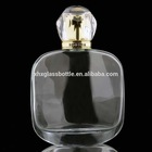 high quality brand perfume glass bottle for perfume in Dubai 100ml men cologne bottle with cap pump sprayer wholesale
