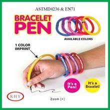 Promotional gift bracelet pen ballpoint pen