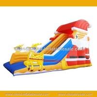 hotsale Christmas theme inflatable slide