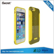 iSecret New products glossy hard back fit plastic for iphone tpu case