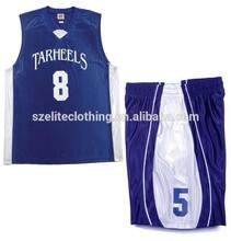 Reversible team custom womens basketball uniform design