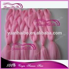 Christmas New Products 2015 wholesale cheap super kanekalon jumbo braid 100 synthetic braiding hair