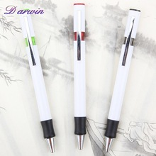 School supplies wholesale cheap white plastic ball pen