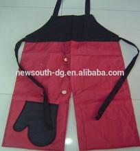 2014--2015 high quality 100% twill cotton fabric kitchen apron