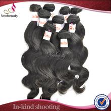 Neobeauty virgin mongolian wet and wavy hair weave