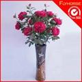 decoração artesanal real toque de flor de tecido artificial rosa