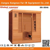 New design Fashionable steam sauna infrared sauna and steam combined room,sauna room