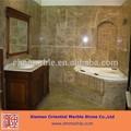 cuarto de baño para el diseño de tapa de la vanidad y la tina