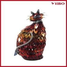 """12.20"""" Cat Animal Metal Garden Art Wholesale"""