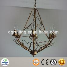 New metal living room glass pendant lamp
