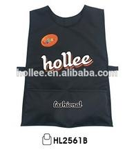 hi vis reflective promotion black safety vest