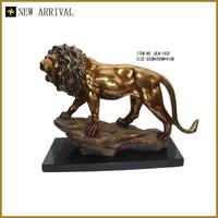 BLN-1432 china home decor wholesale small crafts lion bronze animal figurines