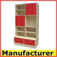 modern design wood display cabinet ,display rack manufacturer price