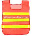 De alta visibilidad de la carretera de equipo de seguridad, malla reflectante chaleco