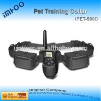 900db dog training collar with beeper pet collars Remote pet training Collar