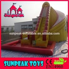 WL-1824 Sunpeak Hot Sell Backyard Fire Truck Inflatable Water Slide