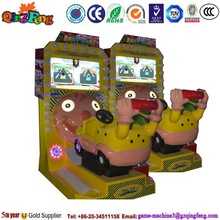 Go kart with screen kiddy ride amusement rides/amusement park toys coin operated kids ride machine YA-QF304