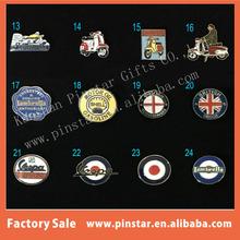 China factory MOD RAF TARGET LAMBRETTA White Vespa Scooter serie badge enamelled pin