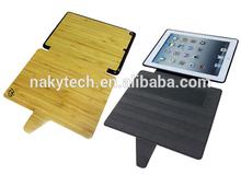 bamboo/wood + pc/tpu case for iPad 2345
