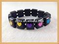 cuore di legno braccialetto per le donne ragazza elastico braccialetti del rosario bracciali di legno