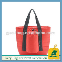 reusable 4 cans thermal cooler lunch bag with carry handle