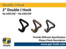 """2"""" Double J Hook"""