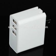 Wholesale EU US Plug 5V 3A USB Wall Charger