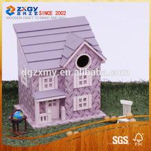 handcraft mini house model wooden toy