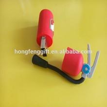Factory promotion pvc rubber Fire extinguisher shape usb flash drive ,High quality usb flash memory