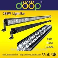 High lumens led offroad light bar 50inch 288W led light bar cover