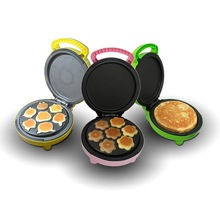 Hot sale multifunctional two pan cake maker with interchangeable plate