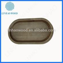 New Arrival Dark Color Wood Show Bottom Base