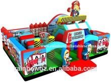 Kids Inflatable Fire Truck Theme Park Fun City