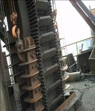 sidewall cleat conveyor belt for elevators