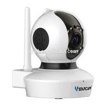 VStarcam P2P HD 1.0mega Pan Tilt Motion Detection night vision wifi camera attachment for cell phone