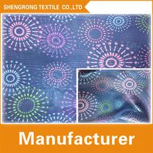 100% polyester digital fabric printing for women dress