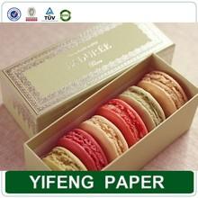 Guangzhou paper box factory macaroon packaging cookie box