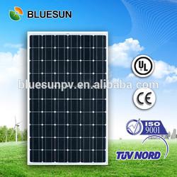 Bluesun excellent quality high performance 250 mono pv solar panel