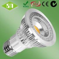 china led bulb lighting 5w 6w 7w par 20 7w e26 dimmable 2700 kelvin 120v 60 degres 415 lumens