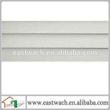 Cellular PVC Vinyl Siding 8 inch white wooden exterior wall vinyl siding villa siding