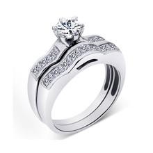 1 carato solitario anello di diamanti per le coppie