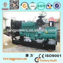 250KW with Cummins engine Diesel generator set price