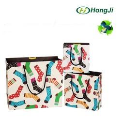 Custom Luxury Foil Shopping Fancy Paper Wine Christmas Gift Bag
