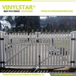 vinyl outdoor dog fencing