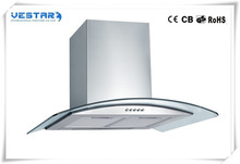 Best seller new design copper island range hood from vestar