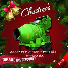 Chrismas Big Sale concrete mixer for sale popular in canada