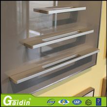 aluminum yellow knife set furniture cabinet door drawer pull handle