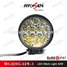 Auto lighting 42W Reflector projector Offroad LED work light 12v led work light
