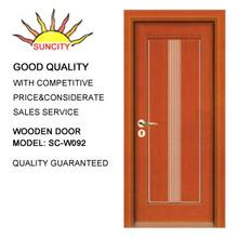 wooden door grill design SC-W092